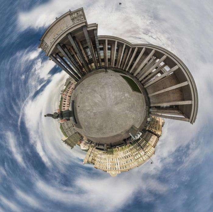 Планета Москва: необычные фото города