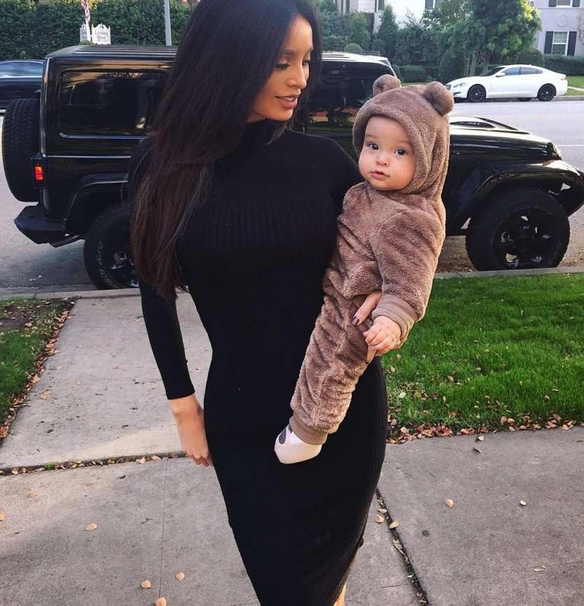 Стильная мама Сара Стейдж с сыном Джеймсом