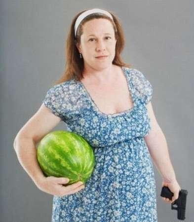 Странные фотки беременных