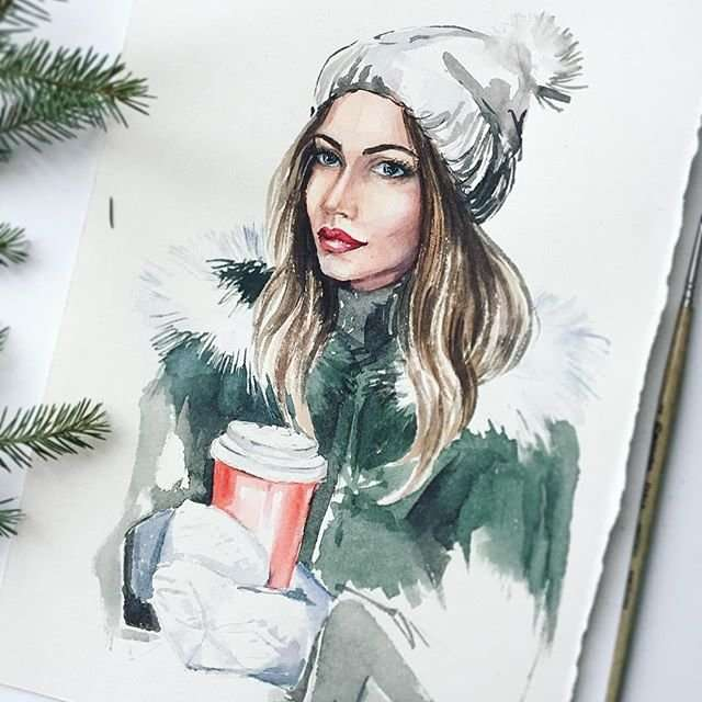 Неаномальная зима Анны Кудряшовой