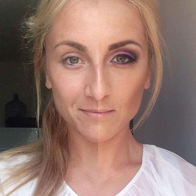 Девушки выступают за силу макияжа