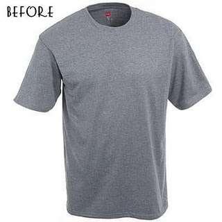 Переделка футболки