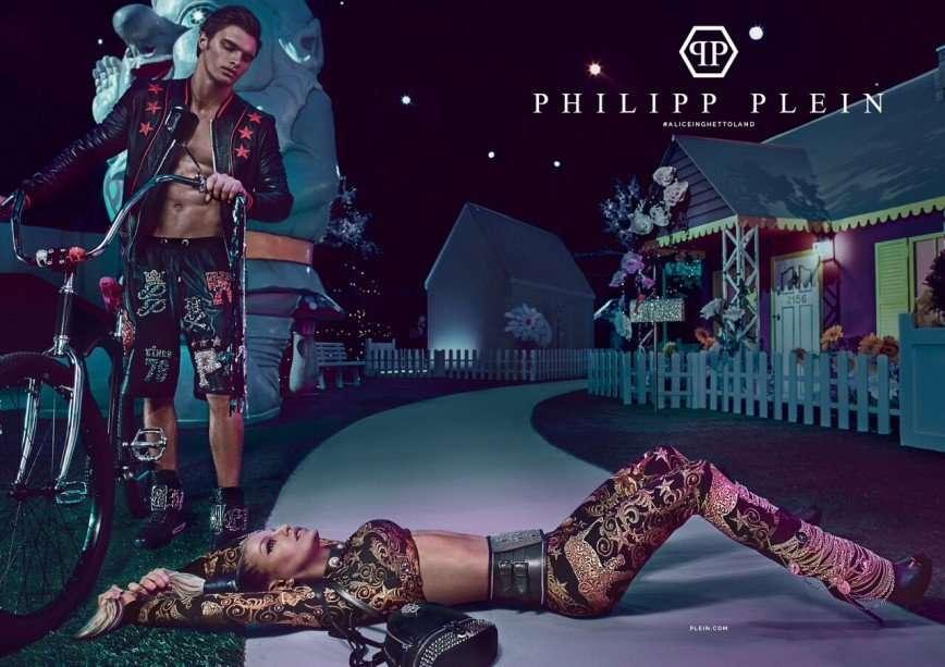 Королева хип-хопа Ферги в рекламной кампании Philipp Plein