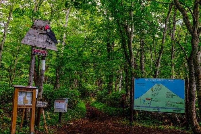 Японская гора Йотей открыта для туристов