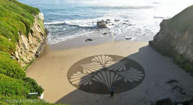 Картины на песчаных берегах