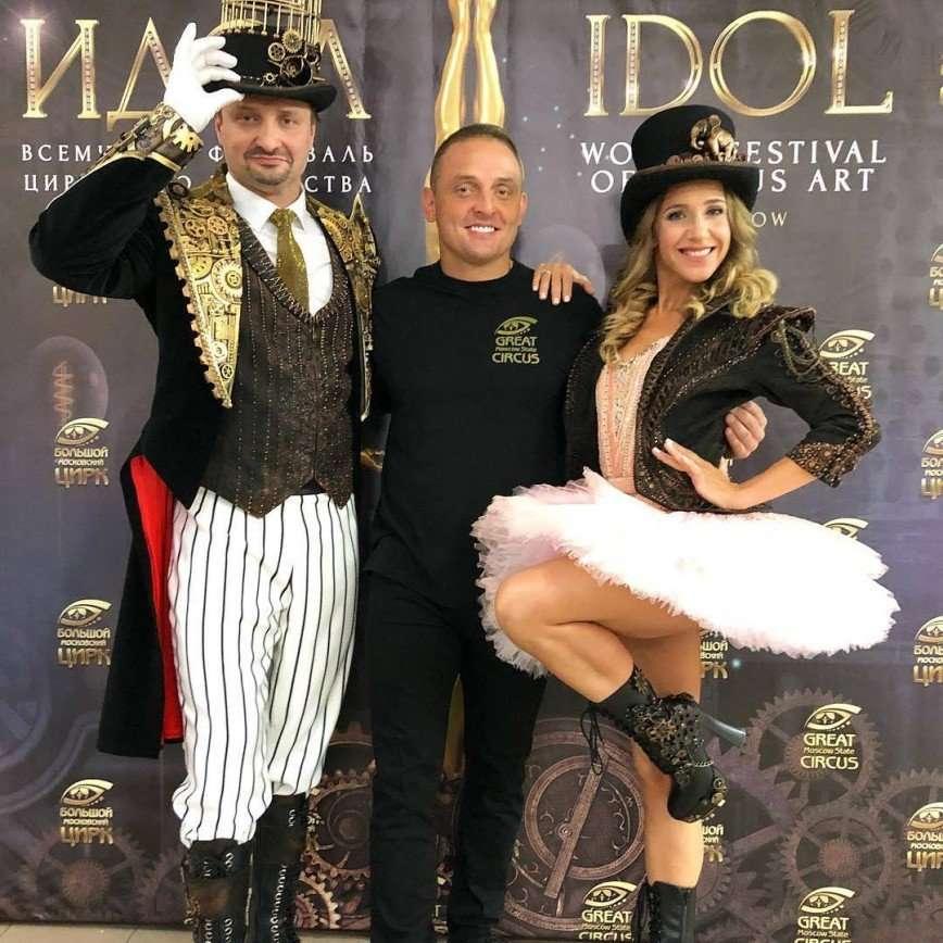 Юлия Ковальчук решилась на полет под куполом цирка