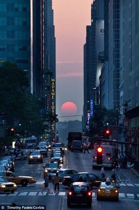 Манхэттенское солнцестояние 2012.