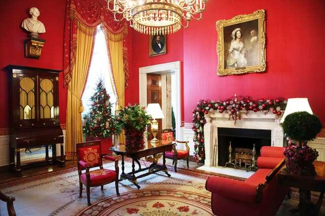 Рождественская экскурсия по Белому дому