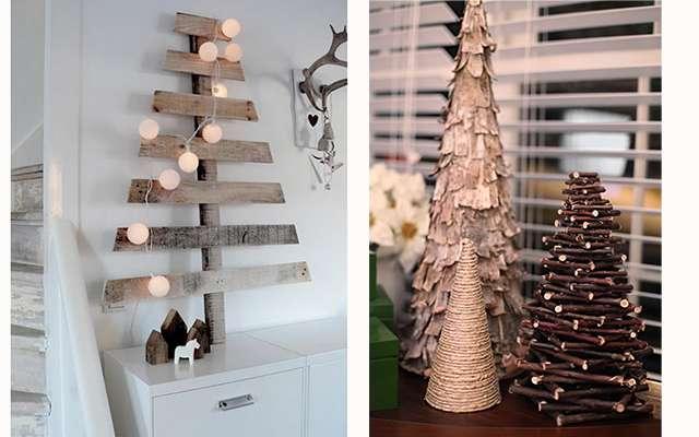 Деревянные украшения на Новый Год