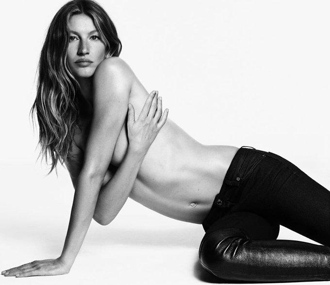 Жизель Бундхен и Кауа Реймонд в рекламе Givenchy Jeans